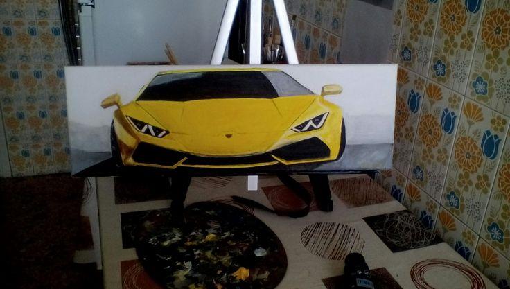 Κίτρινο.