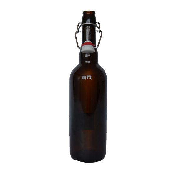 750 ml Beer Crown Swing Top. Botella de vidrio ideal para cerveza. Glass bottle for beer.