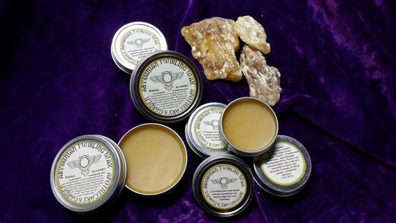 Handcrafted Moustache waxes made with natural resins that add hold, fragrance and tenacity.