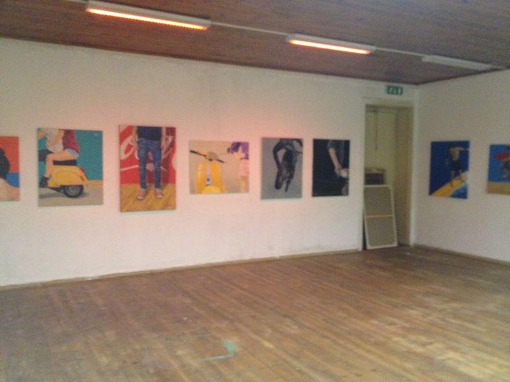 photo2 exposition Duarte Almada @ EKA Palace