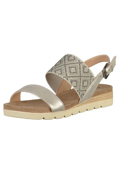 CAPRICE Sandalen silber #sandalen #schuhe #fashion
