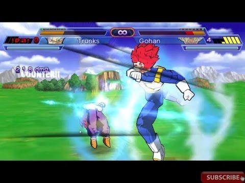 Super Goku : Saiyan Warriors 2 | Trunks ssj GOD 'Red VS Gohan ssj God Re...