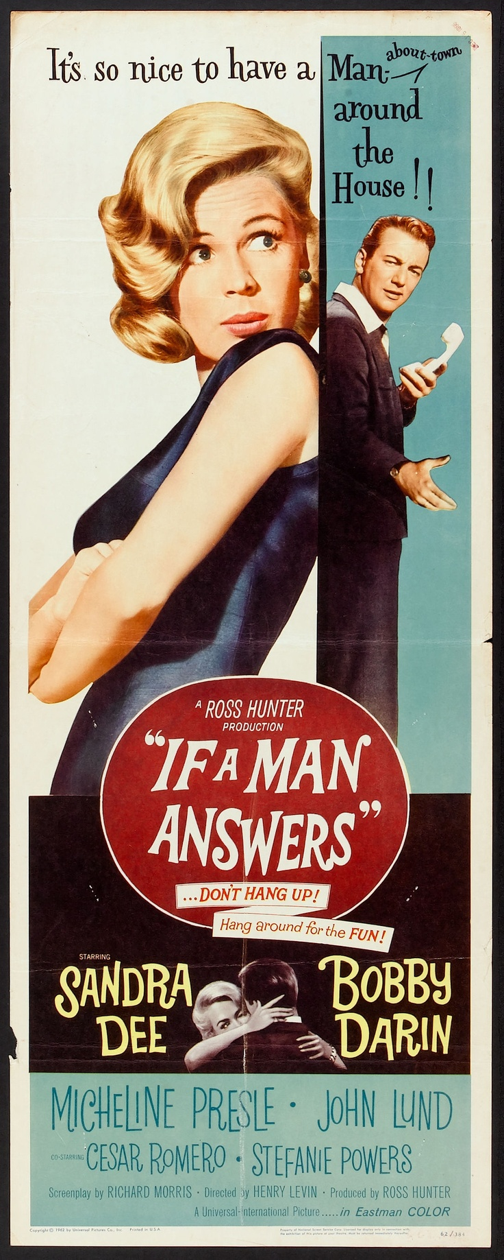 If A Man Answers (1962) starring Sandra Dee & Bobby Darin