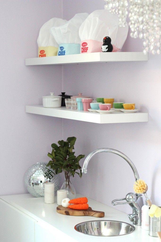 Play kitchen / DIY / @byrust_ / Ikea hack