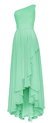 Olidress Women's One Shoulder High Low Long Chiffon Prom Bridesmaid Dress Mint US14 Olidress http://www.amazon.de/dp/B01APLO7TI/ref=cm_sw_r_pi_dp_bXQaxb0HXGXXM
