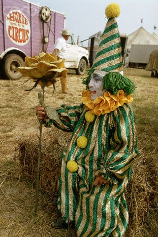 Portrait of a Circus Clown                                                                                                                                                      More