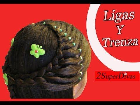 Peinado faciles paso a paso infantiles,  trenzas, cintas y tocados para fiestas, novias