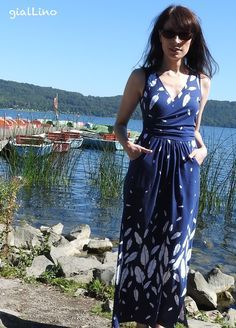 12 Letters of Handmade Fashion, Sunshine Dress P4P, patterns for pirates, Volar, lillestoff, milchmonster