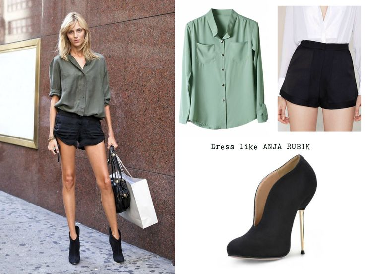 Dress like x http://nthgtowear.tumblr.com/ Anja Rubik