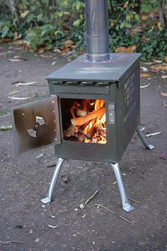17 best images about bushcraft diy gear on pinterest for Diy camp stove
