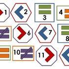 Calendar pattern – Math concepts, geometry
