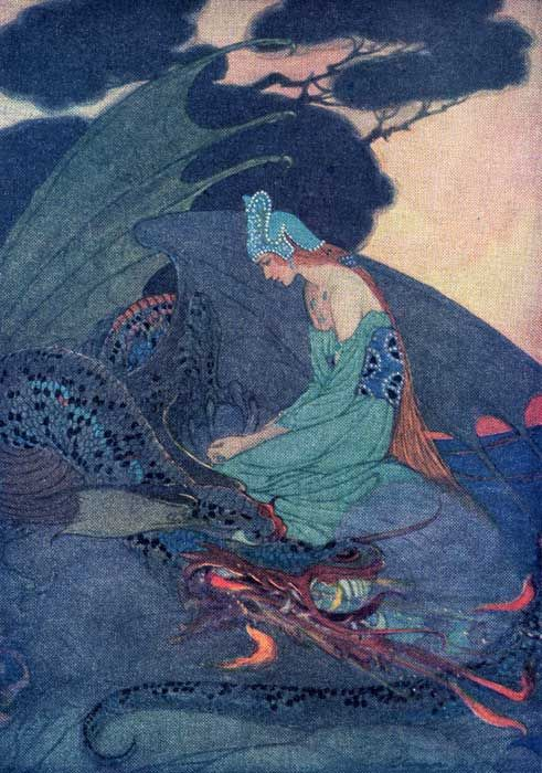 SurLaLune Fairy Tales Blog: Women in Folklore Month: Elenore Plaisted Abbott