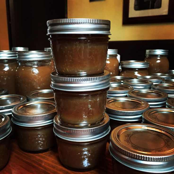 @terroniTo Italian style local Apple Butter with Marsala and Espresso. A bit of sugar and a whole lot of love.