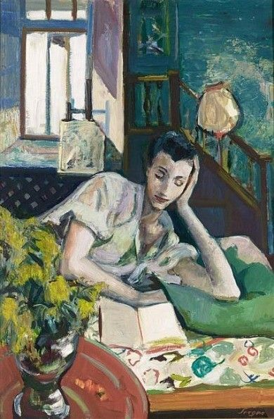 ✉ Biblio Beauties ✉ paintings of women reading letters & books - Frederick Serger