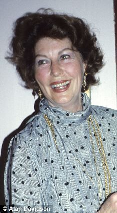 Reminder of mortality: Ava Gardner pictured before the devastating stroke she suffered in 1986