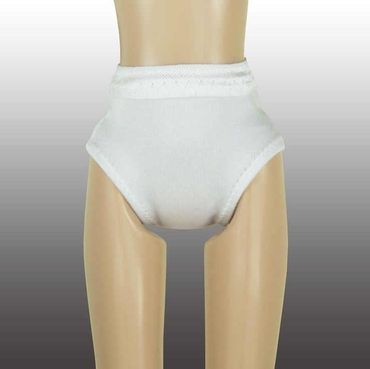 Doll Panties for Skipper or Francie - White - Doll Clothes