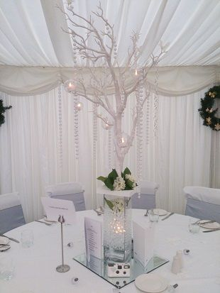 27 best wishing tree in wedding decorations images on pinterest crystal tree centrepiece hire from wedding venue dressers woodyatt warner stunning wedding table centrepieces in cheshire manchester and the north west junglespirit Gallery