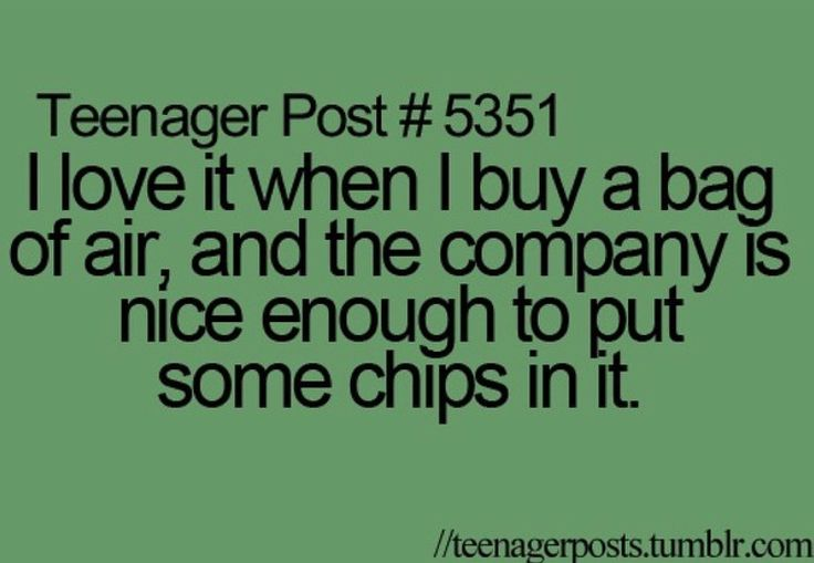IKR? Thank you soo much for placing chips in my bag of air