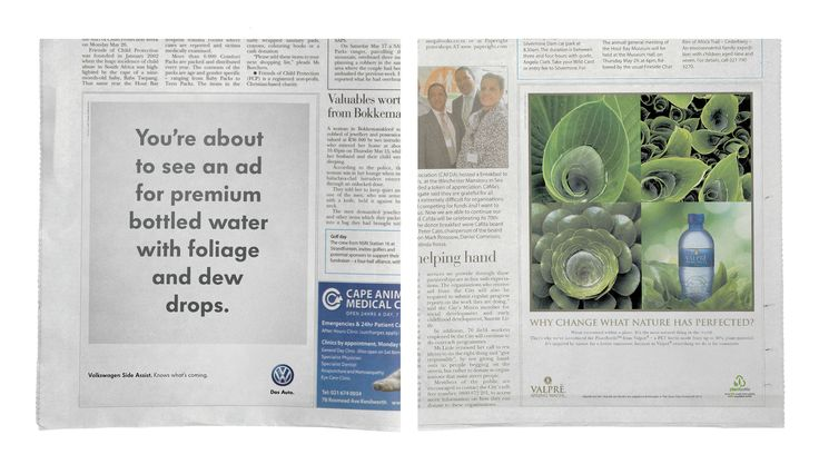 The Press Ads That Know What's Coming | Clever Humorous Volkswagen Newspaper Adverts | Award-winning Press Advertising Campaigns | D&AD