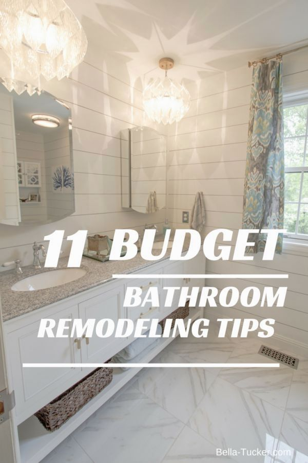 Bathroom Remodeling On A Budget Budget Bathroom Remodel