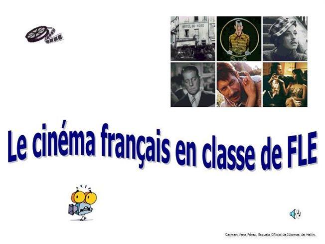 Le cinéma français en cours de FLE by cvera via authorSTREAM