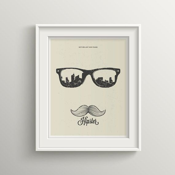HOLIDAY SALE 20% OFF Hipster Neither Lost Nor by BekareCreative