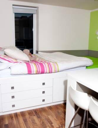 Student Accommodation - Newcastle Rooms Studio Motte2