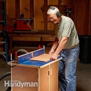 Use these plans to build this router table and change your woodworking world!