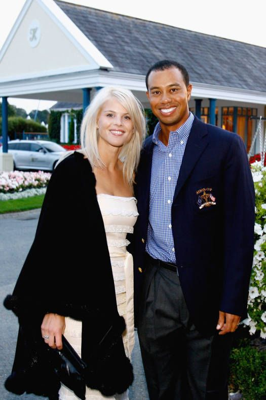 Tiger Woods & then wife, Elin Nordegren - You can't get much more public than Tiger Woods' breakup. After it was revealed Tiger to be a super cheater, Elin attacked him and his car with a golf club.