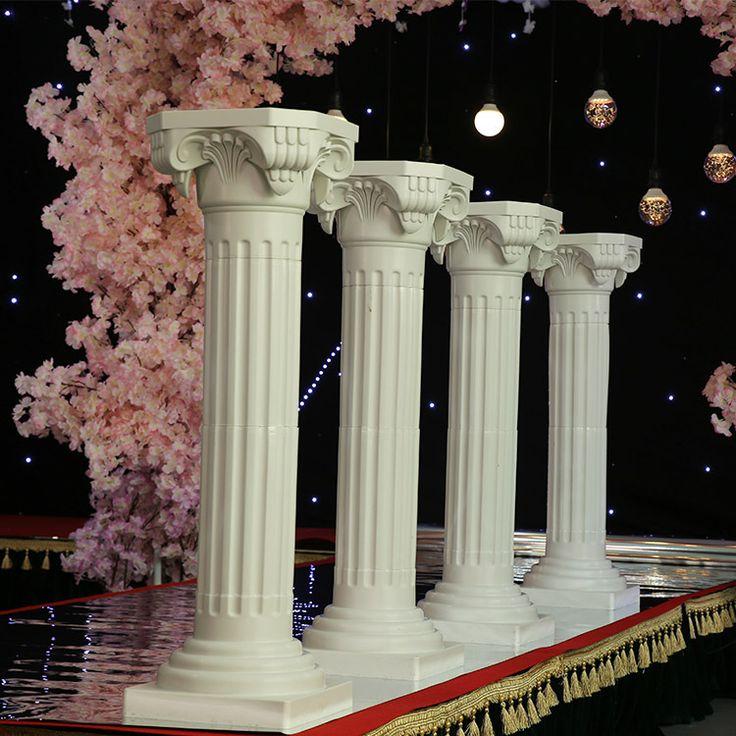 Giá rẻ Miễn phí Vận Chuyển 88 (H) wedding roman cột cưới đạo cụ cưới roman trụ cột đường dẫn trang trí đám cưới 8 cái/lốc, Mua Chất lượng   trực tiếp từ Trung Quốc nhà cung cấp: chiều cao là khoảng 88 cmgiá cả là cho 8 cái roman trụ cột và không có phụ kiện khác giống như ánh sáng, flower pots và