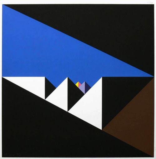Walter Allner, Ohne Titel, 1973