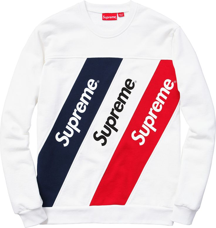 Athletic Split Crewneck