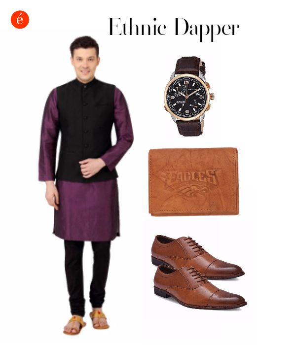 Celebrate Diwali in a dapper avatar. #ethnic#classic#stately#festive
