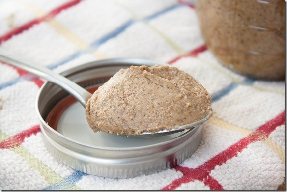 Almond Flax Butter...maranatha + trader's its been good knowing you.
