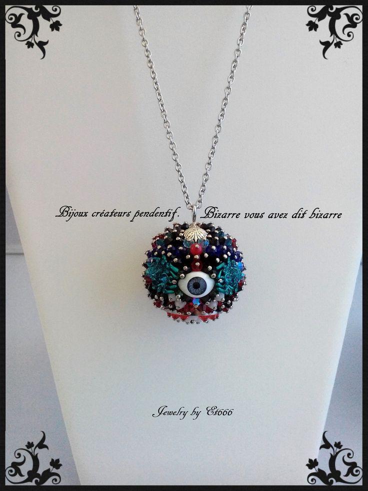 Jewelry creators pendant. Bizarre you said bizarre