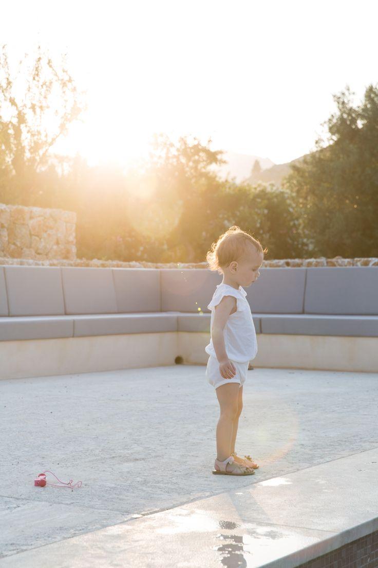 Jolie Juliet. Beautiful photo by @stephanieduval  www.minimalisma.com#minimalisma #luxurybasics #kidswear #mallorca