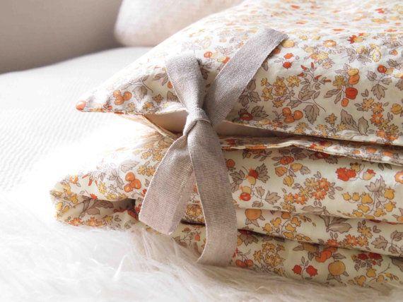 Liberty print floral baby bedding