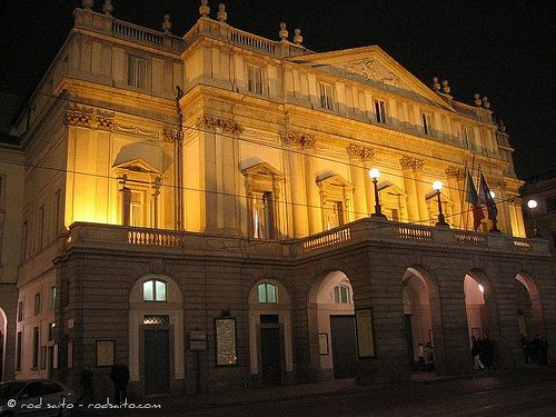Teatro alla Scala - Milan Milano Italy