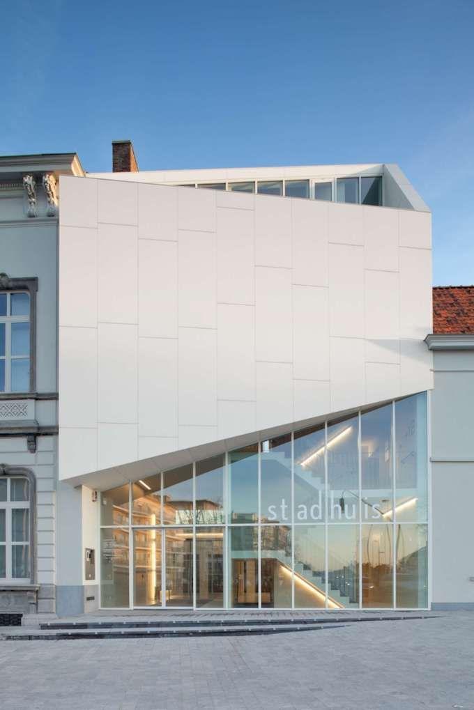 *주민문화센터 [ Dehullu Architecten ] The Town Hall of Harelbeke :: 5osA: [오사]
