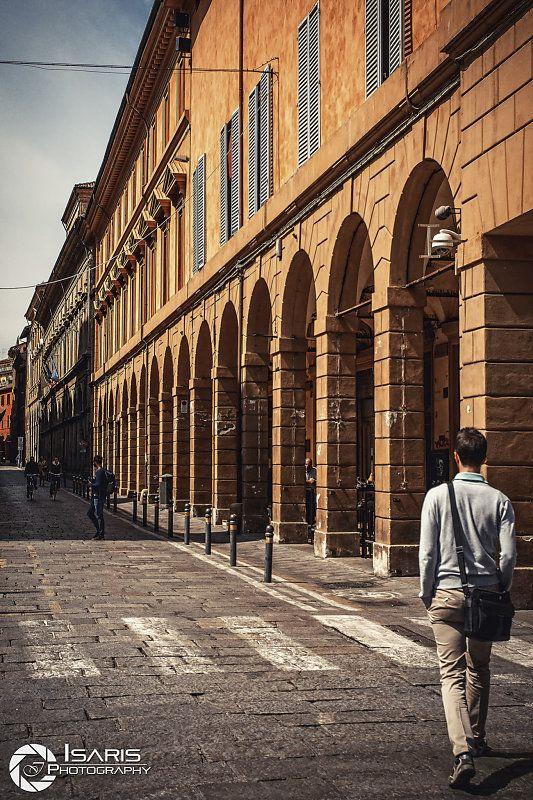 Caminando in città.