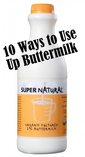 Everyday Reading - Fun Modern Motherhood with a Practical Spin: 10 Ways to Use Buttermilk