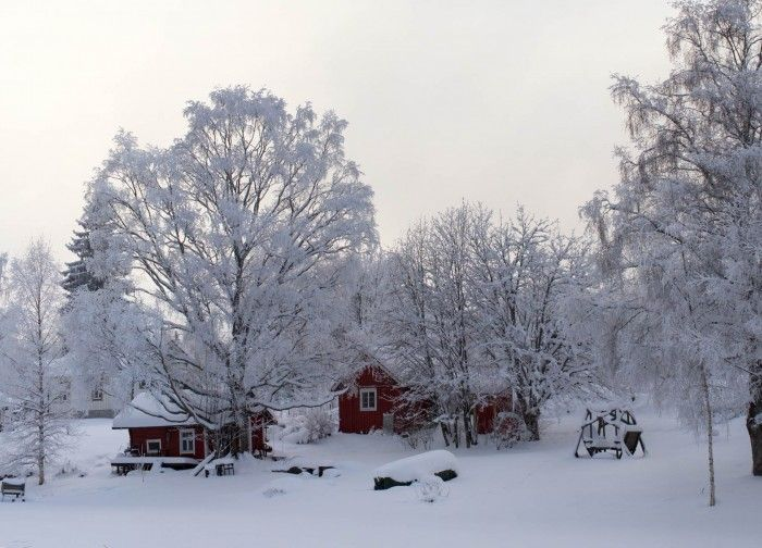 A common winterview by www.minorpostcards.fi