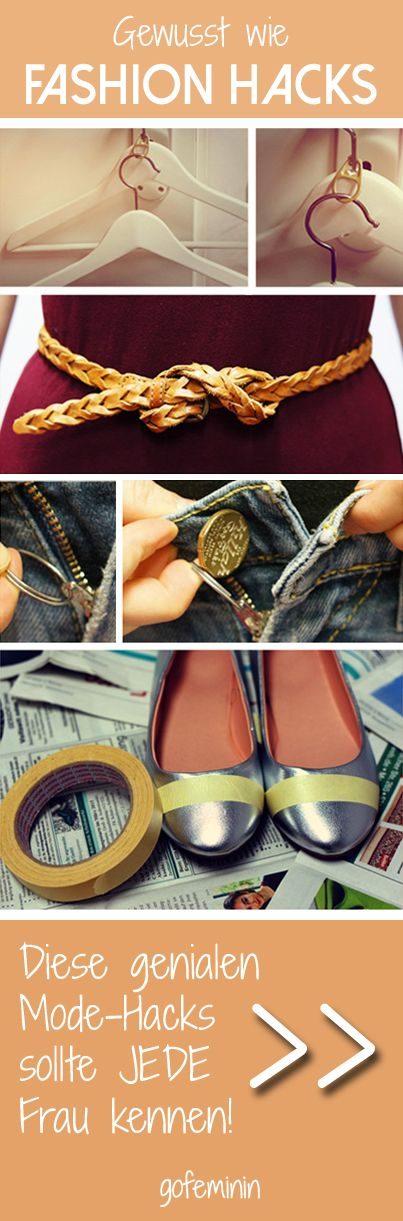 Kennt ihr schon diese Mode-Tricks? Nein?! Dann unbedingt klicken und lesen! <3