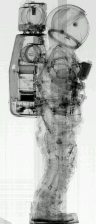 X-ray astronaut