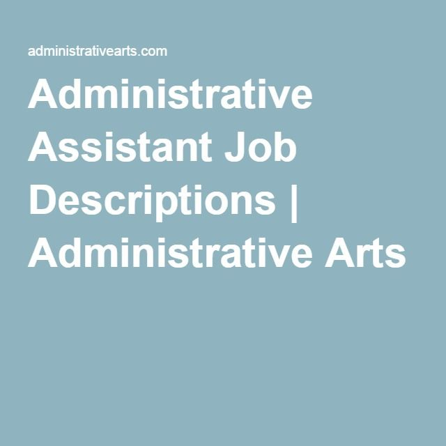 17 beste ideeën over Administrative Assistant Job Description op - web designer job description