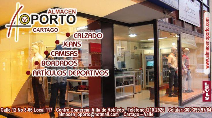 ALMACEN OPORTO: Comercio De Cartago, Almacén Oporto, Apoya Deporte
