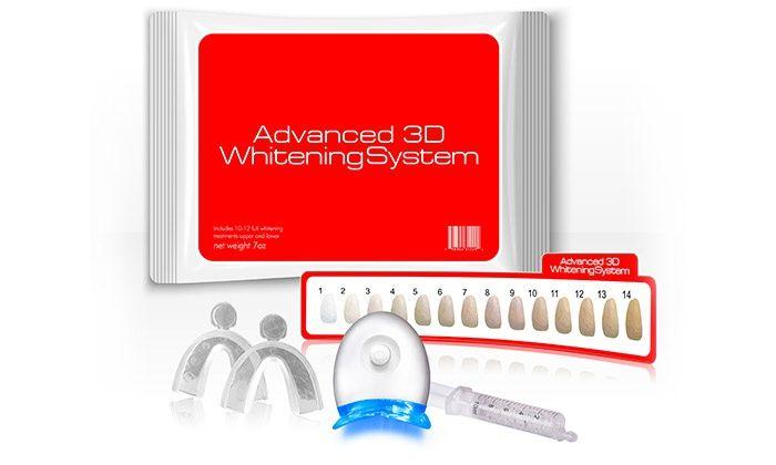 Advanced 3D Teeth Whitening Kit - Advanced Teeth Whitening USA | Groupon