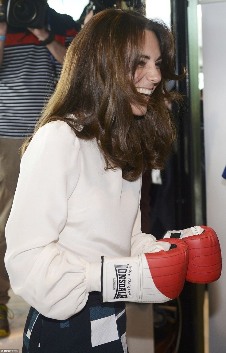 Duke praised Kate's technique at boxing, saying she was better than Princes William and Harry