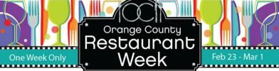 Check out Orange County Restaurant Week coming this weekend!  Read details in this post and see some of my favorite restaurants to visit!