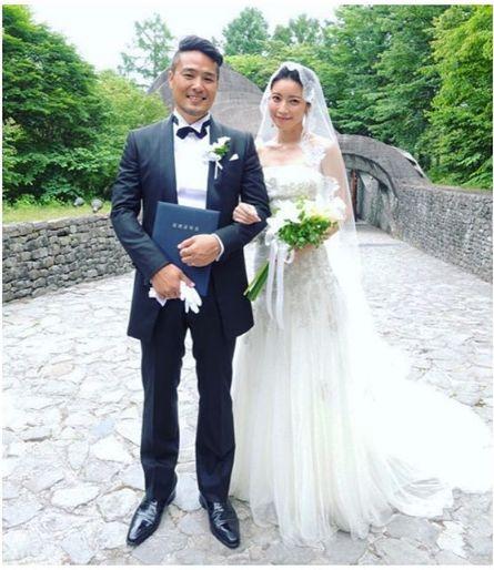 森絵里香、結婚式を挙げました!
